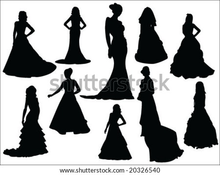 bride silhouette collection