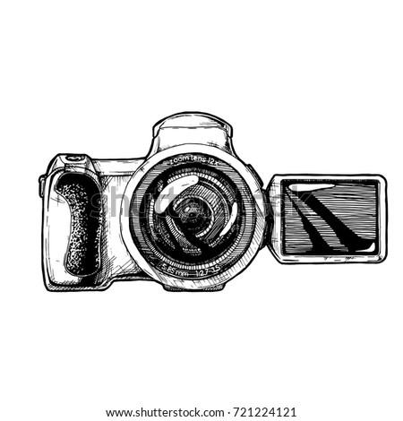 bridge camera with articulating