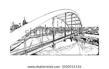 bridge in the center of