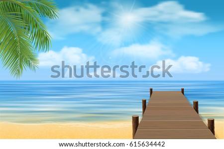 bridge made of wooden planks on