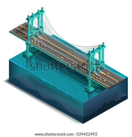 bridge over the river design