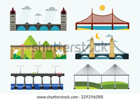 bridge vector set bridges
