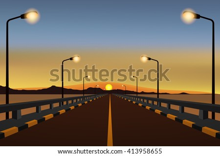bridge way sea coast and
