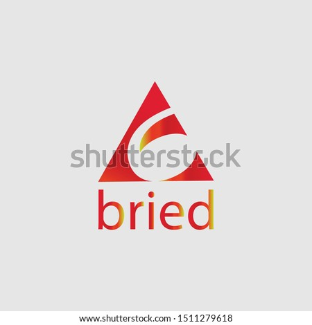 Bried and Simple Logo Template Vector
