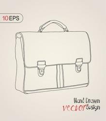 briefcase, sketch