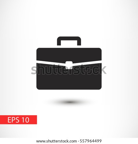 briefcase vector icon