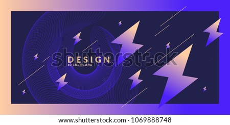 bright abstract background with