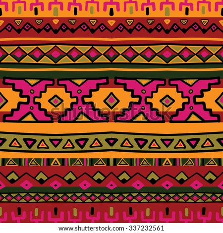 bright acid colored ethnic