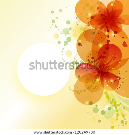 Bright background. Flower background with flowers. Card for mothers day.