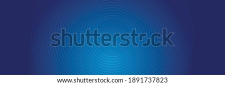 Bright blue dynamic abstract vector background with diagonal lines. 3d cover of business presentation banner for sale event night party. Fast moving soft circle wave line stripe decoration
