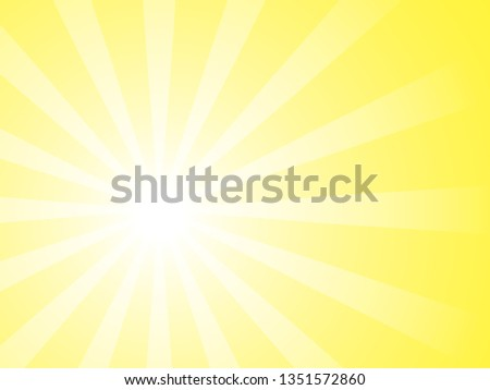 Bright catchy background for an ad that attracts attention Background for advertising banner Yellow poster in pop art style. Sale inscription design template. Yellow banner. Vector illustration eps 10