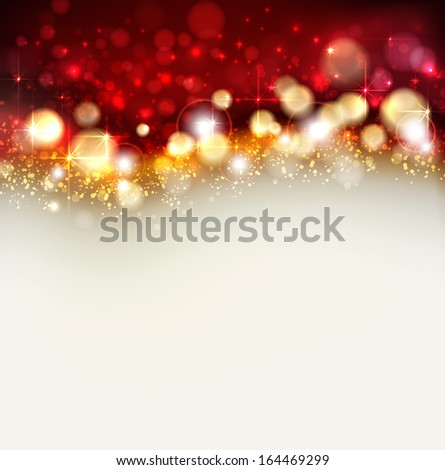 bright christmas background