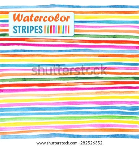 bright colored horizontal