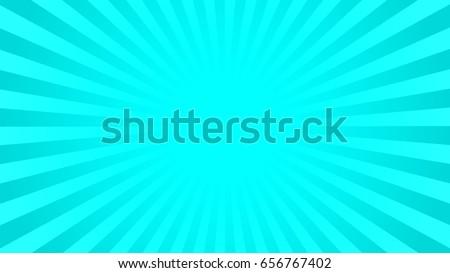 bright cyan rays background