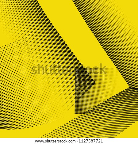 stock-vector-bright-geometric-abstract-halftone-pattern-dynamic-lines-and-curves-vector-illustration-with-dots