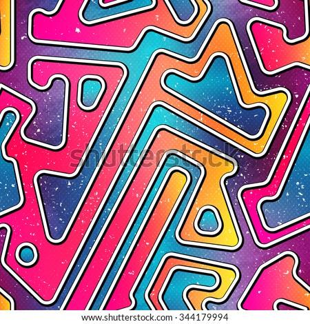 bright geometric seamless