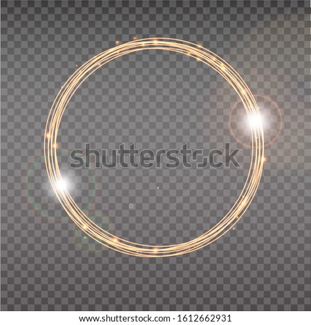bright halo abstract glowing