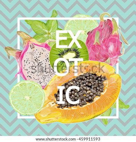 bright  juicy  color  summer