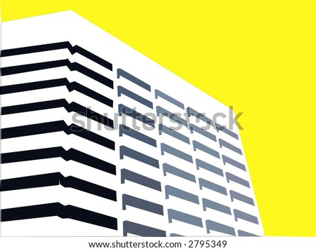 bright modern corporate office building