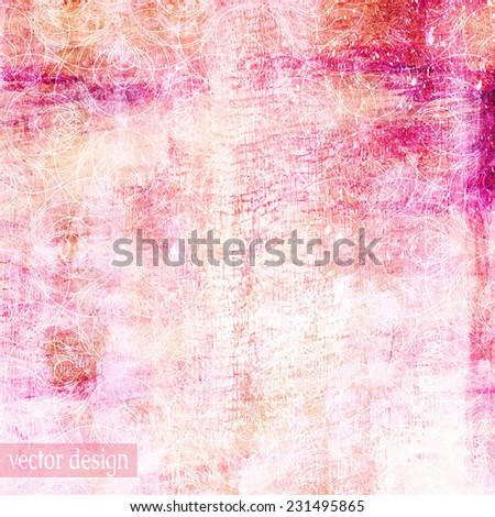 bright pink abstract artistic