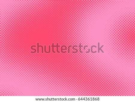 bright pink and magenta pop art