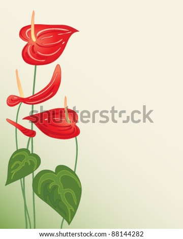 Illustration Of Plant With Leaf In A Sunlight Illustration Of Green