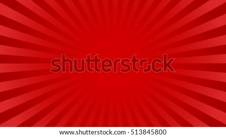 bright red rays background with