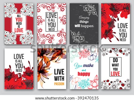 bright romantic background in