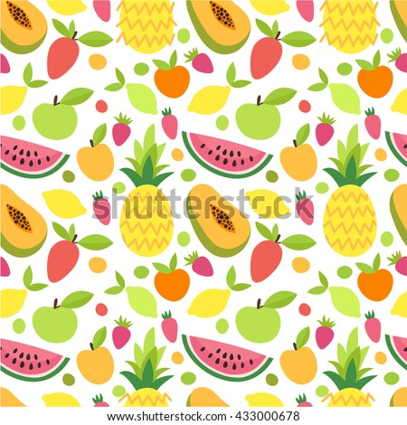 bright seamless background with