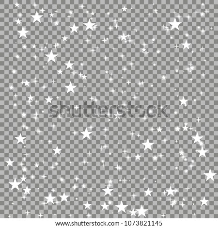 Bright shimmering star glow magical frame layout over checkered background. Sparkling light effects isolated. - Shutterstock ID 1073821145