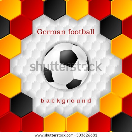 bright soccer background with