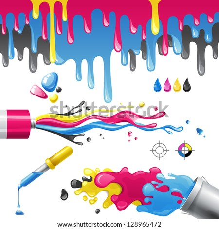 how to get vibrant colours in cmyk