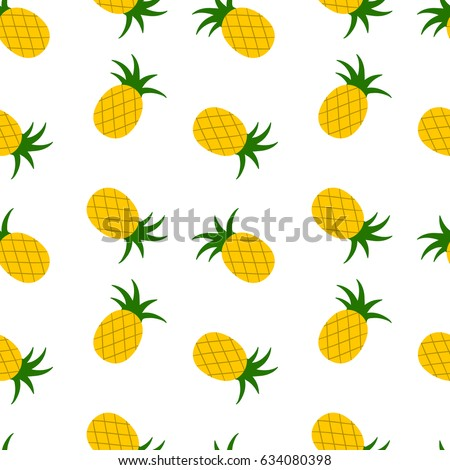 bright summer seamless pattern
