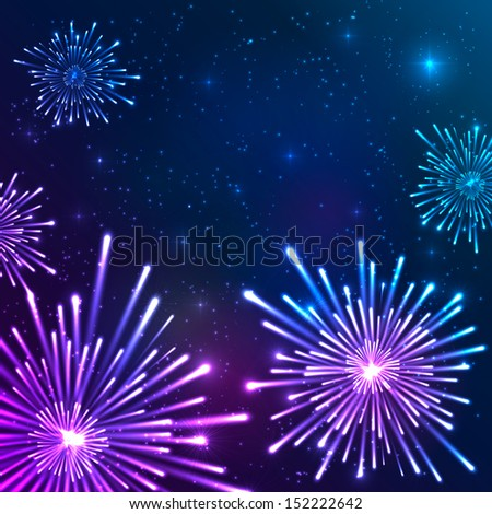 bright violet and blue vector