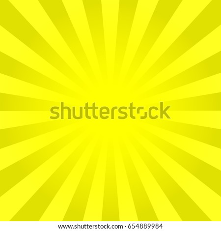 bright yellow rays background