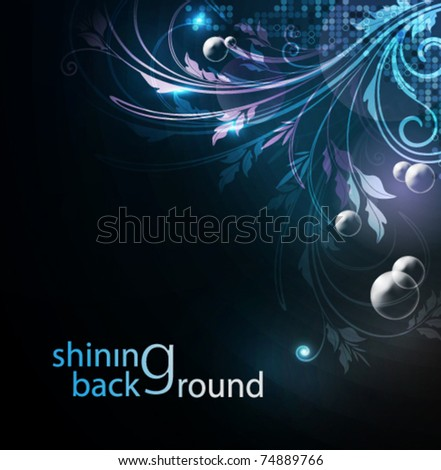 Brightly glowing background, EPS10 format