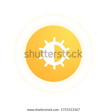 Brightness - Modern Icon (Pictogram) Stock photo ©