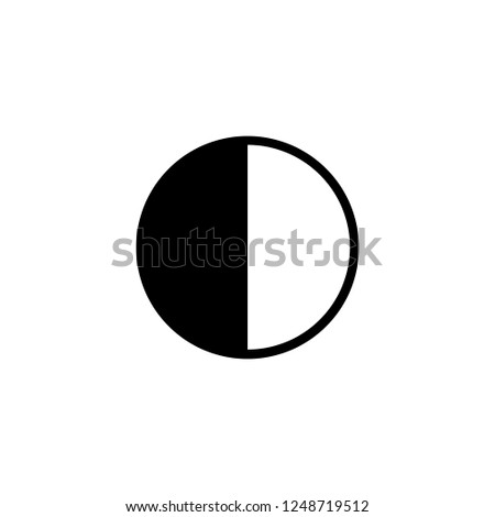 brightness vector icon. brightness sign on white background. brightness icon for web and app