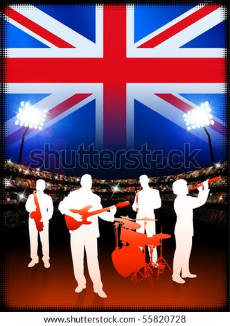 britain live music band on