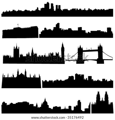 Britain's famous historical buildings and modern architecture.