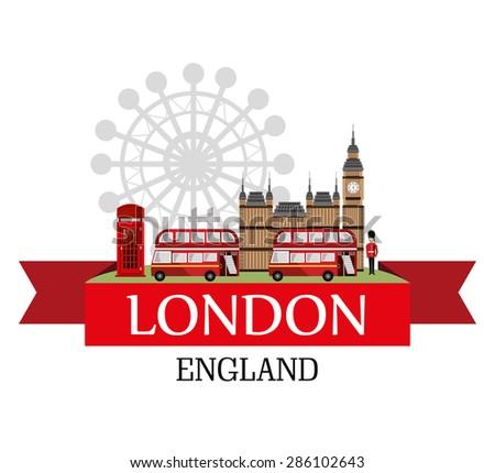 british design over white