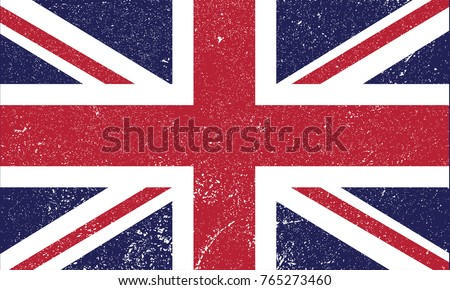 british flag uk illustration