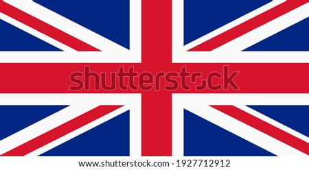 British flag, United Kingdom Flag Vector