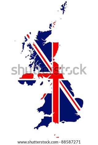 British map