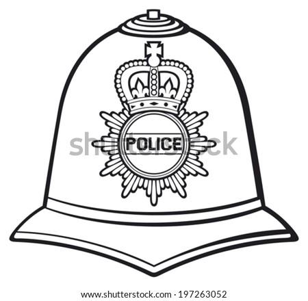 british police helmet  bobby