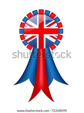 British Ribbon (with gradient mesh)