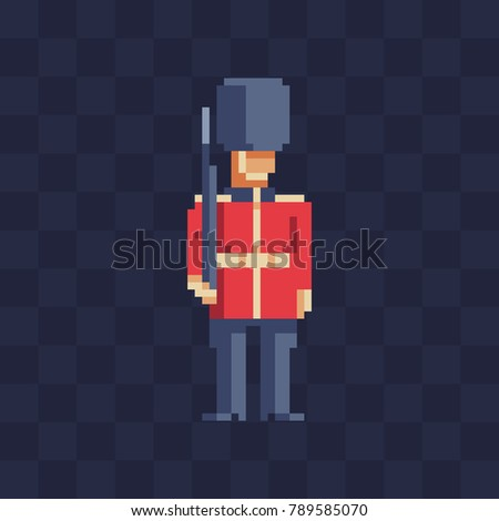 british soldier character