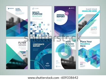 business cover page template design download free vector art