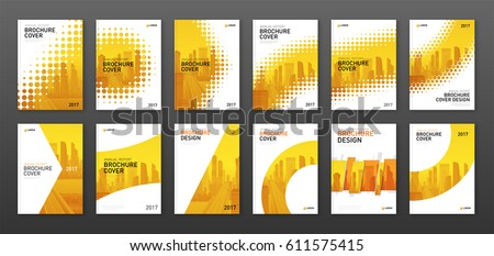 brochure cover design layout