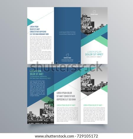stock-vector-brochure-design-brochure-template-creative-tri-fold-trend-brochure